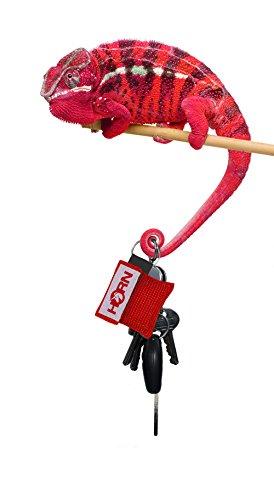 Horn-key - Beatmungstuch im Schluesselanhaenger (rot)