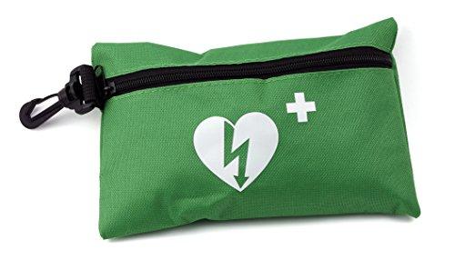 Medx5 CPR Erste Hilfe Set Maske Notfallbeatmungsmaske Notfallmaske Beatmungsmaske Beatmungsbeutel Taschenmaske Pocketmaske mit Zubehör und Ersthelfer-Anleitung