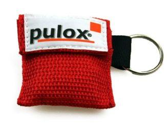 PULOX RESPI-Key Schlüsselanhänger Beatmungstuch